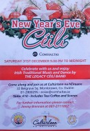 2016 New Year's Eve Céilí at 9pm