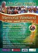12th Gerry Whelan Memorial Weekend