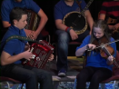 comhaltasLive #460_1: Keelan McGrath (Ballycommon CCE) on accordion and Blaithín Kennedy (Ormond CC