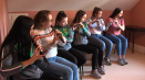 ComhaltasLive #573_12:A group of 6 flute players from Fintona