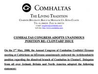 Comhaltas Congress Statement on Clontarf