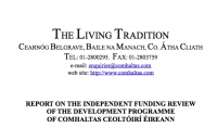 Funding Review of the Comhaltas Development Programme