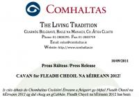Cavan for Fleadh Cheoil na hÉireann 2012!