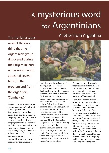 A mysterious word for Argentinians